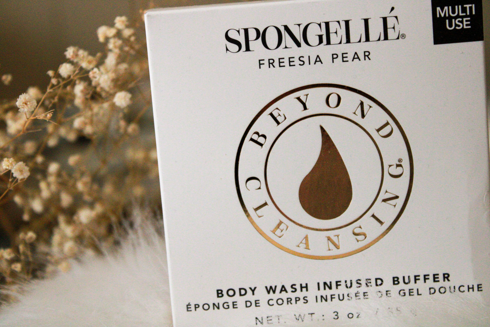 Boxyluxe March 2020 - Spongellé - Freesia Pear